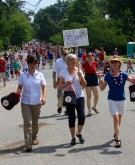 Citizen AcTS walking in the parade. Let Freedom Ring!